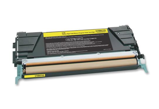 Lexmark 7K LRP C746A1YG - принт-картридж для Lexmark C746 и C748 (Yellow) от iCover