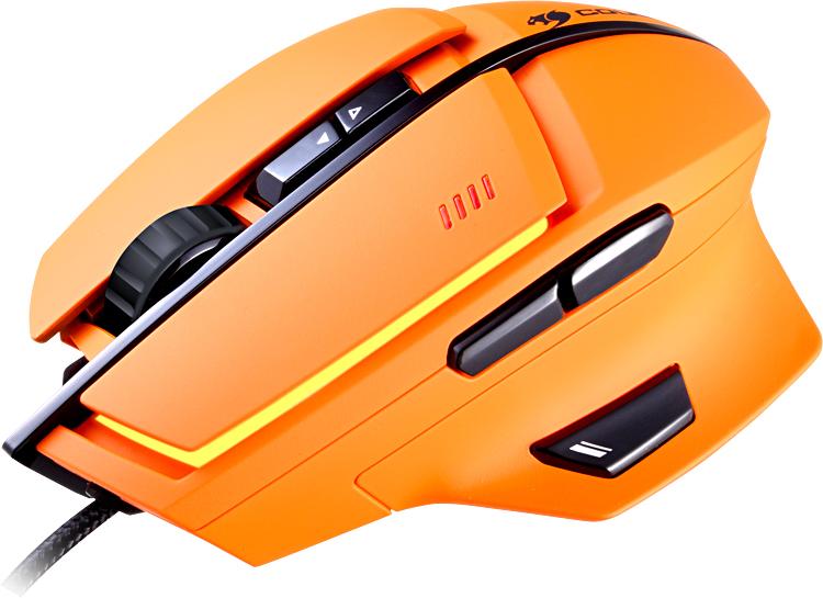 Cougar 600M - проводная мышь (Orange)