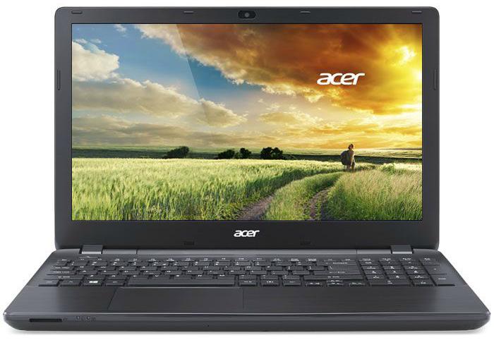 Ноутбук Acer Aspire E5-571G-539K 15.6'', Intel Core i5-5200U 2.2GHz, 4Gb, 500Gb HDD (Black)