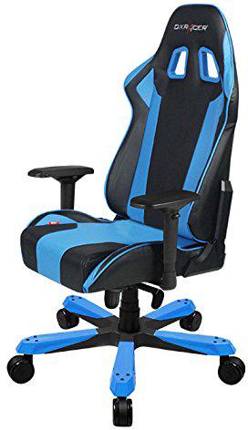 DXRacer OH/KS06/N - компьютерное кресло (Black/Blue)