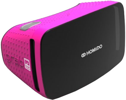 homido Очки виртуальной реальности Homido Grab (Pink)