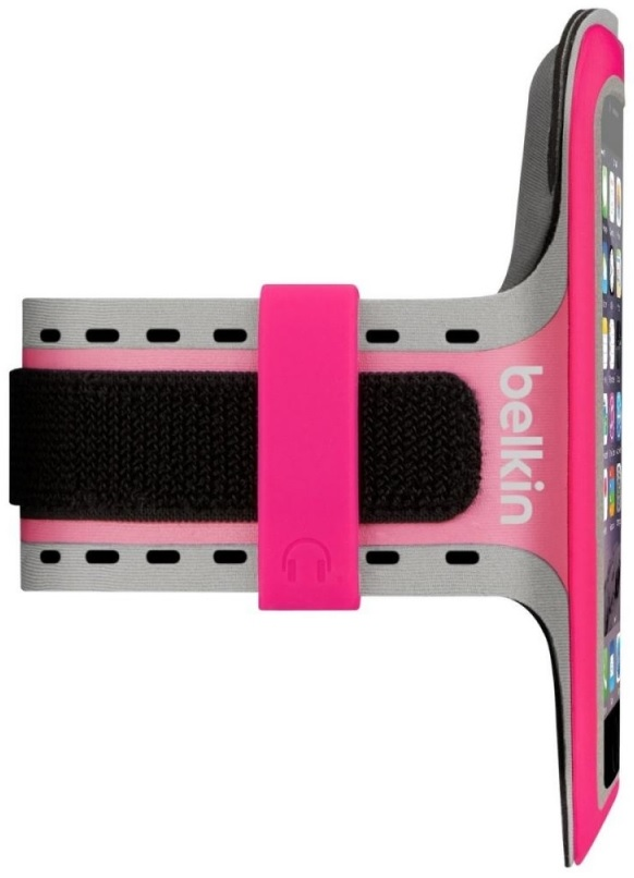 Спортивный чехол Belkin Slim-fit Plus Armband F8W499BTC01 для iPhone 6 (Pink)