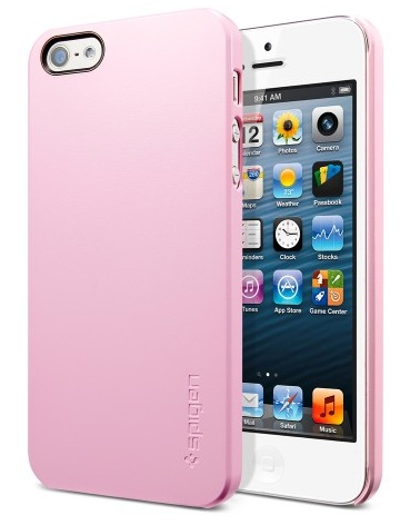 SGP Ultra Thin Air Series (SGP09506) - чехол для iPhone 5/5S/SE (Sherbet Pink) от iCover