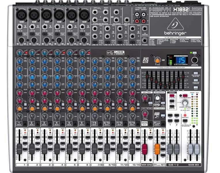 XENYXDJ станции и контроллеры<br>Микшер<br>