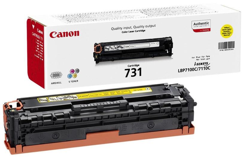 Canon 731Y (6269B002) - картридж для принтеров Canon (Yellow)