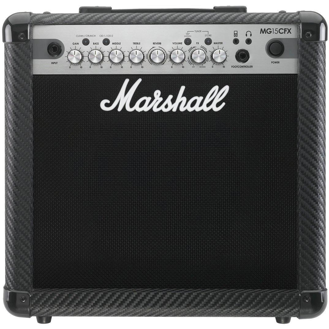 Marshall MG15CFX Combo - гитарный комбоусилитель (Black)Музыкальные инструменты<br>Гитарный комбоусилитель<br>