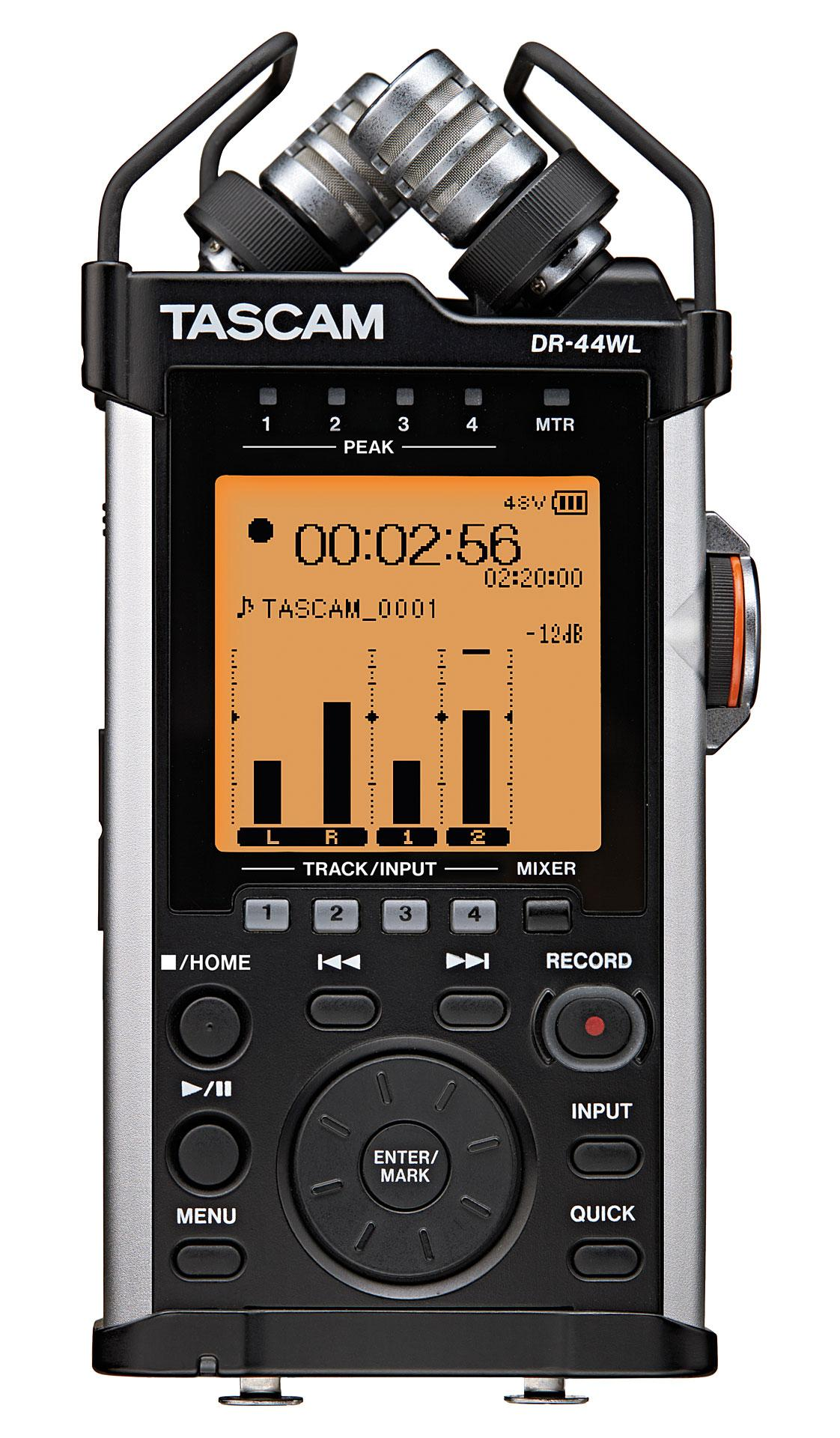Tascam DR-44WL (A052395) - ручной рекордер (Black/Silver) simple minds simple minds once upon a time 5 cd dvd