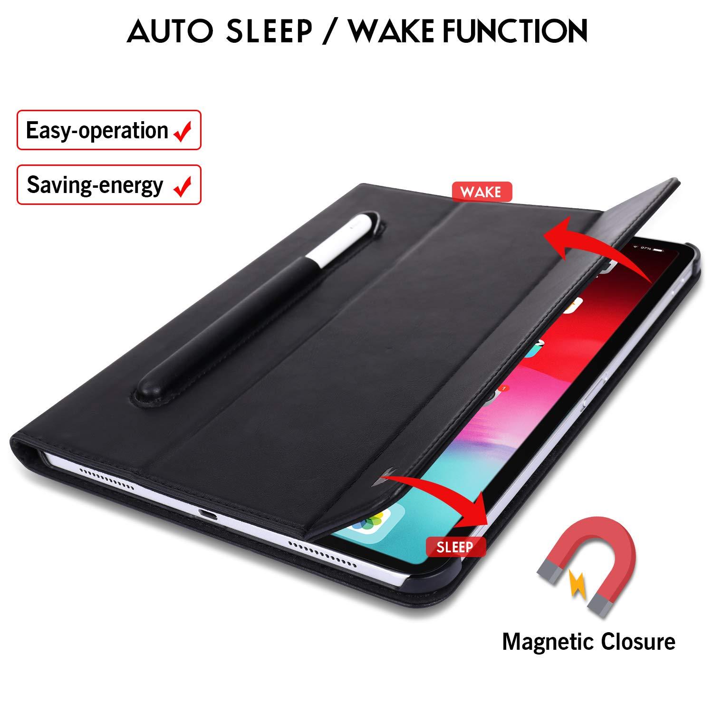Чехол Jisoncase Mircofiber Leather Case (JS-PRO-45M10) для iPad Pro 11 (Black)