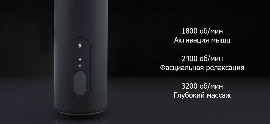 Перкуссионный массажер Xiaomi Yunmai Fascia Massager Pro Basic YMJM-551S (Grey) купить в интернет-магазине icover