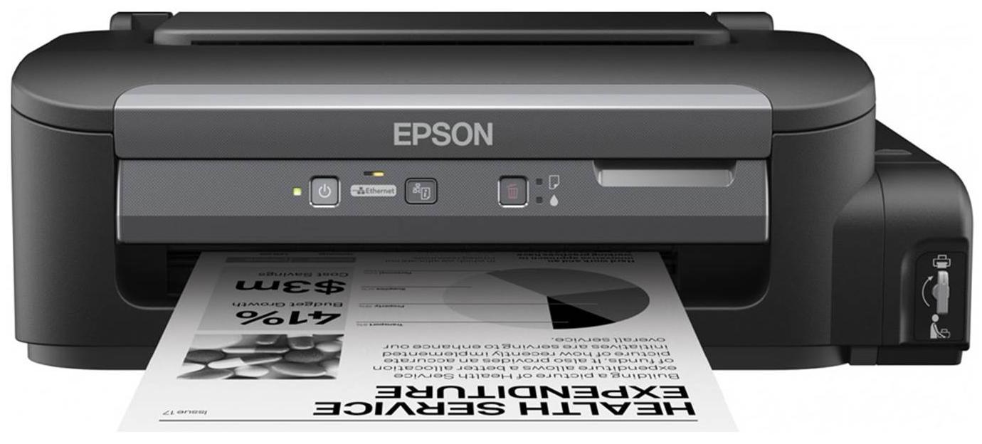 Epson M100 (C11CC84311) - струйный принтер (Black) epson m100 c11cc84311 струйный принтер black
