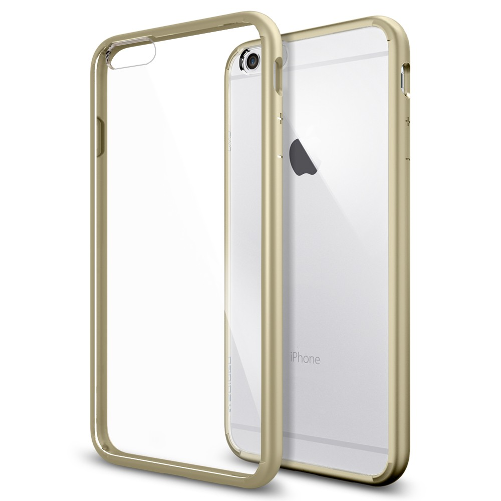 "Spigen Ultra Hybrid (SGP10895) - чехол для iPhone 6 Plus 5.5"" (Champagne Gold)"