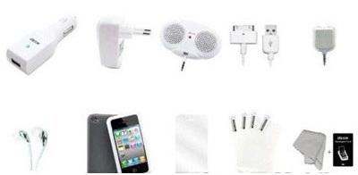 Dexim DPA067CW 14 in 1 Bundle Pack - набор аксессуаров для iPhone/iPod