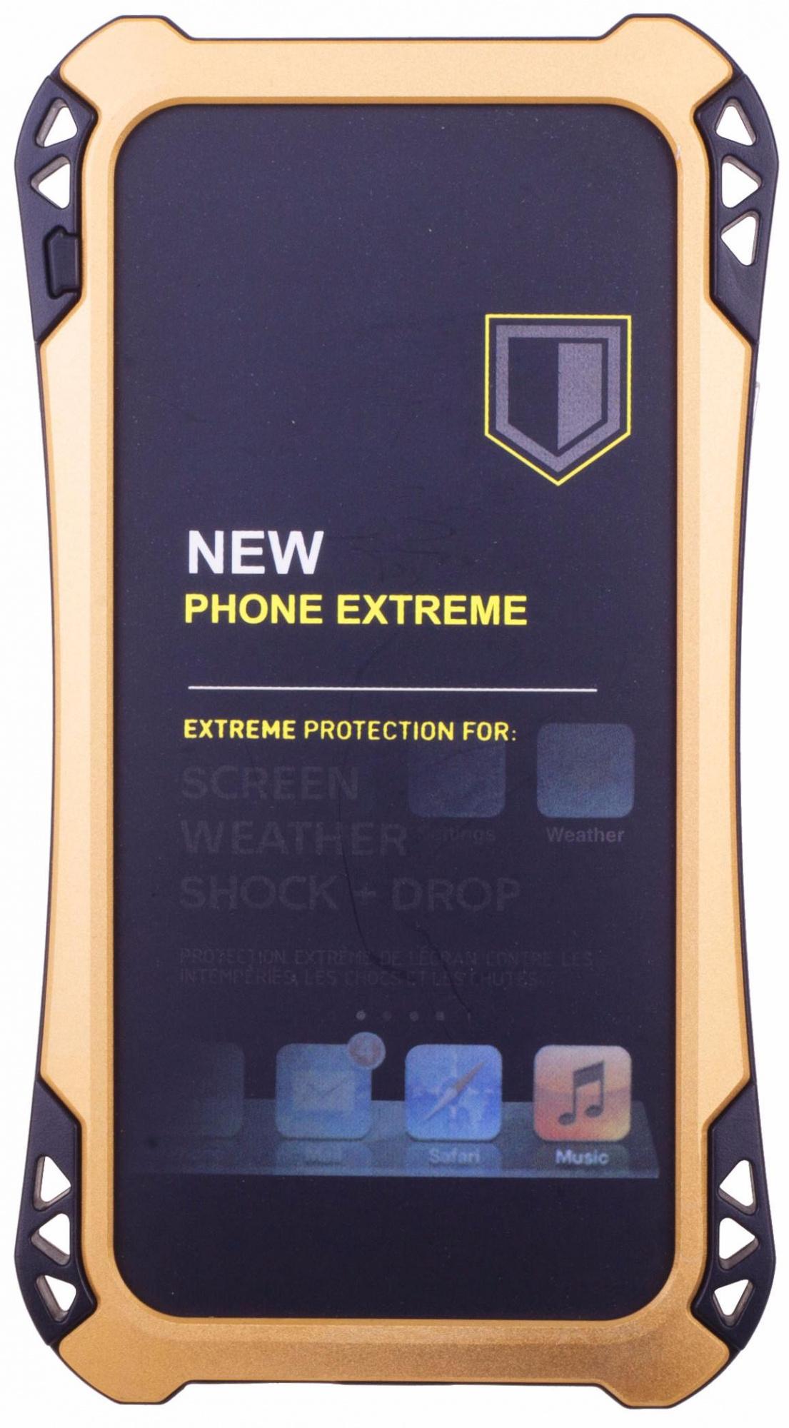 Amira Phone Extreme - защитный чехол для iPhone 6/6S (Gold/Black)
