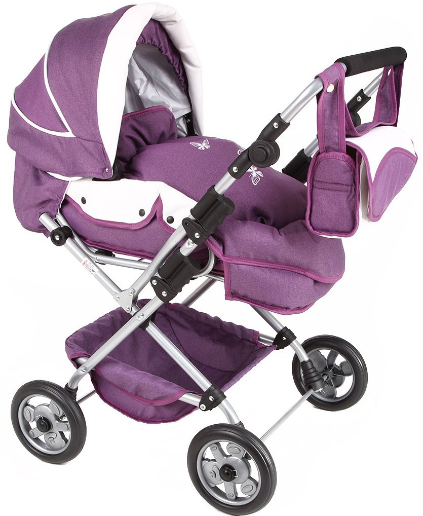 Tako WL4 (GL000070472) - коляска для кукол (Purple/White) от iCover