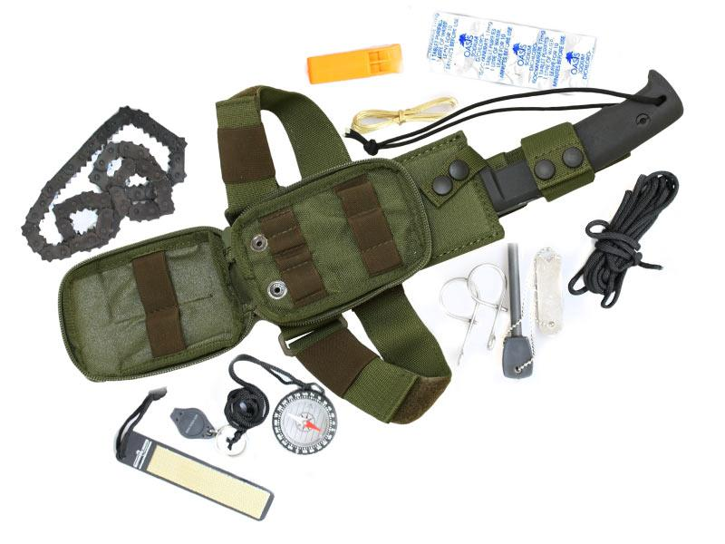 Extrema Ratio Selvans Survival Kit (EX/KITSELGRFOD) - набор для выживания (Green) от iCover