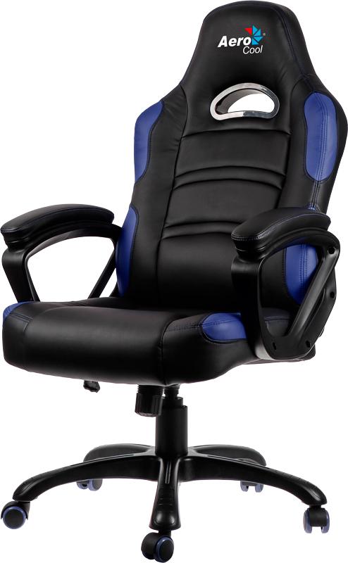 Кресло игровое Aerocool AC80С (Black/Blue)