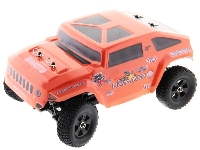 Himoto Hammer 4WD 1/10 RTR (E10HM) - радиоуправляемый шорт-корс трак (Orange)