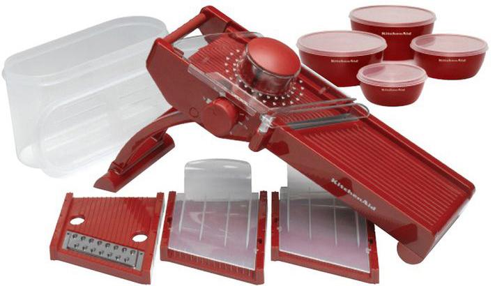 KitchenAid (KG310ER) - овощерезка (Red)