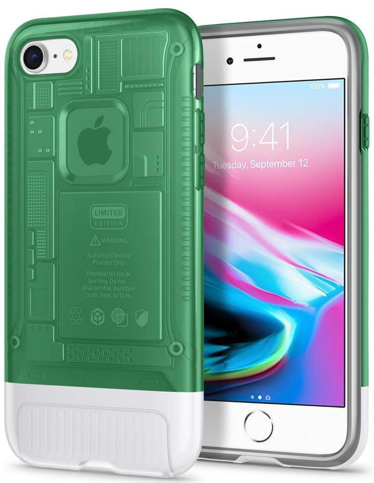 Чехол Spigen Classic C1 (054CS24403) для iPhone 8/7 (Sage)