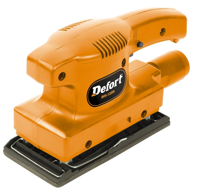 DeFort DFS-135N (93720629) - вибрационная шлифмашина (Orange)