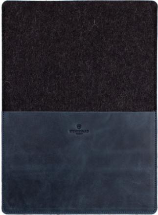 Stoneguard 511 (SG5410102) - кожаный чехол для MacBook 12 (Ocean/Coal)