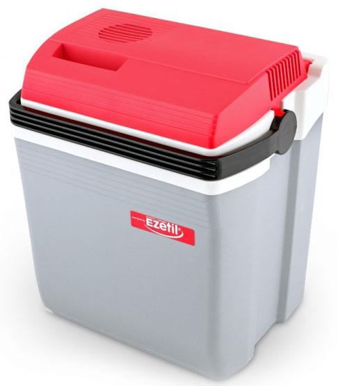 Ezetil E28 12V (10775735) - автомобильный холодильник (Gray/Red)