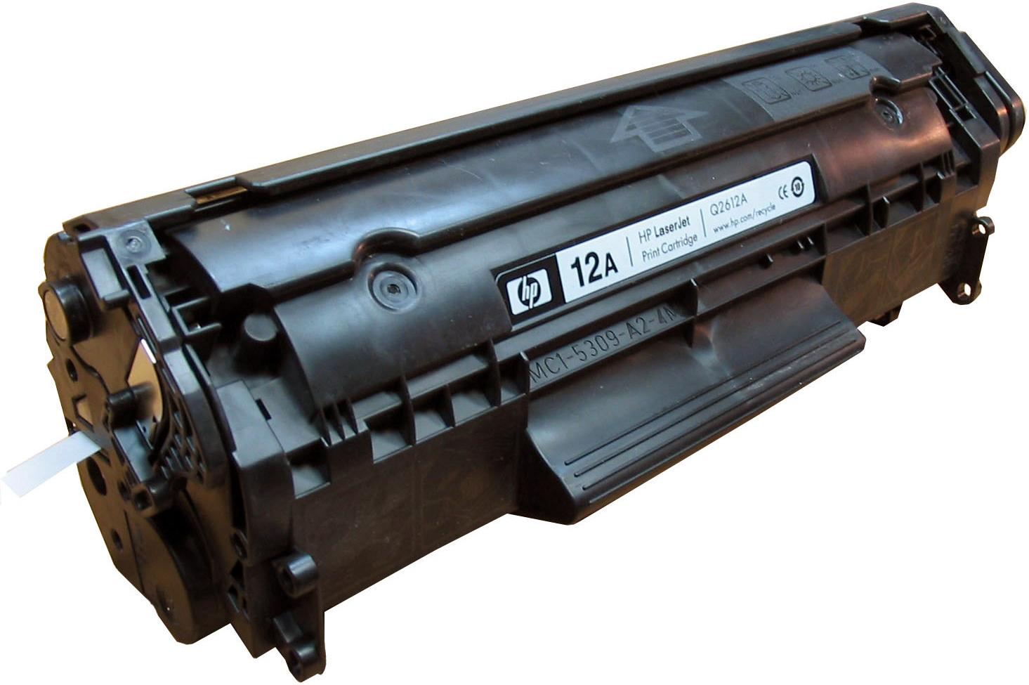 HP 12A (Q2612A) - картридж для принтеров HP LaserJet 1010/1012/1015/1018/1020/1022/3015/3020/3030 (Black)