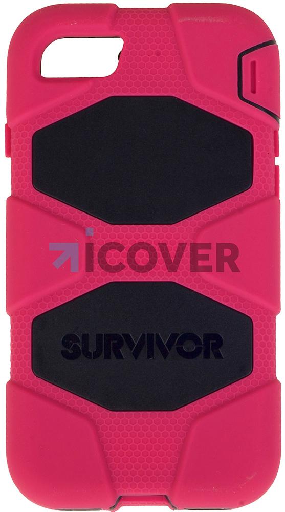 Griffin Survivor - противоударный чехол для iPhone 7 (Black/Pink)