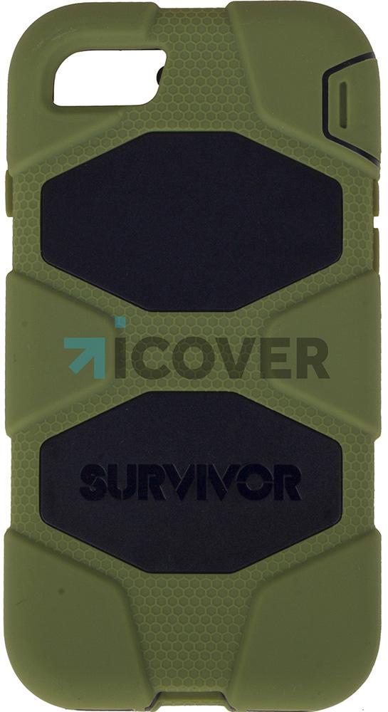 Griffin Survivor - противоударный чехол для iPhone 7 (Green/Black)