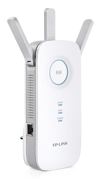 TP-Link RE450 - Wi-Fi усилитель сигнала (White)