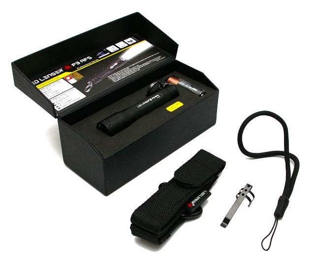 Led Lenser P3-AFS (8403-A) - фонарик светодиодный (Black)