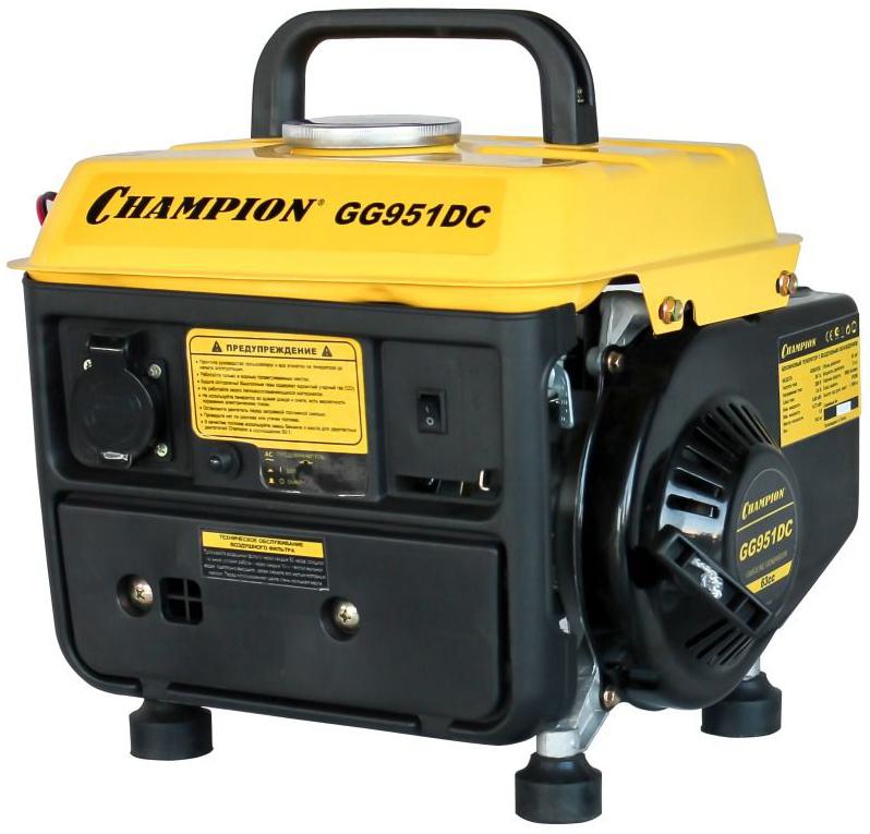 Champion GG951DC - бензиновый генератор (Black/Yellow)