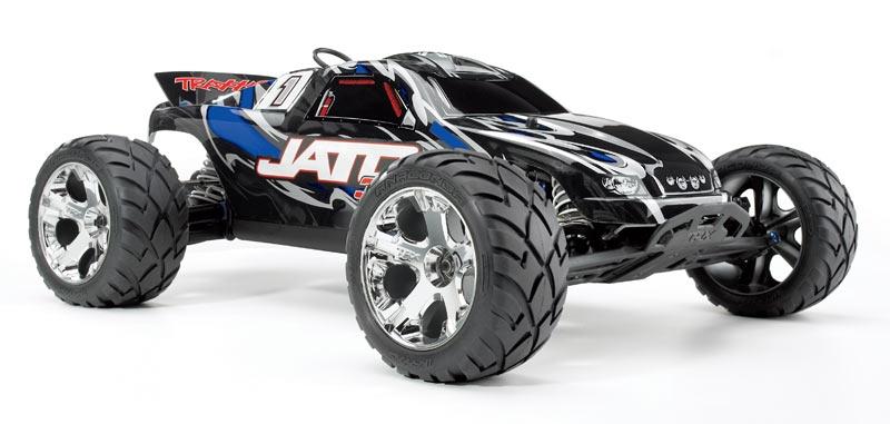 Traxxas Jato 3.3 Nitro 1:10 - радиоуправляемый автомобиль (Black)