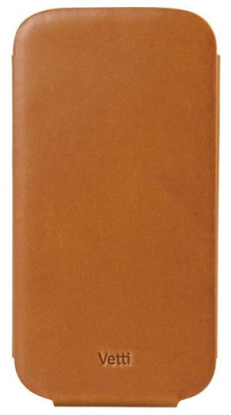 Vetti Lusso Case Flip Type (SGY93LFNS120301) - чехол для Samsung Galaxy S3 (Brown)