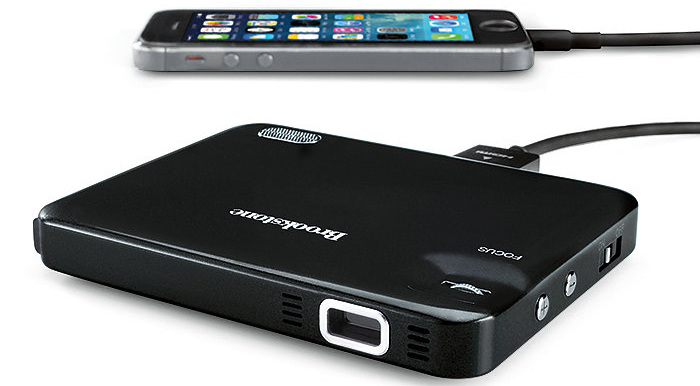 Brookstone Pocket Projector Micro