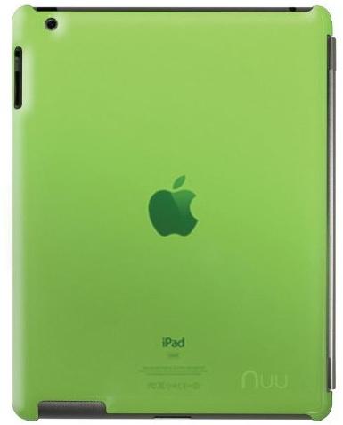 NUU BaseCase - чехол для iPad 2/iPad 3/iPad 4 (Verde)