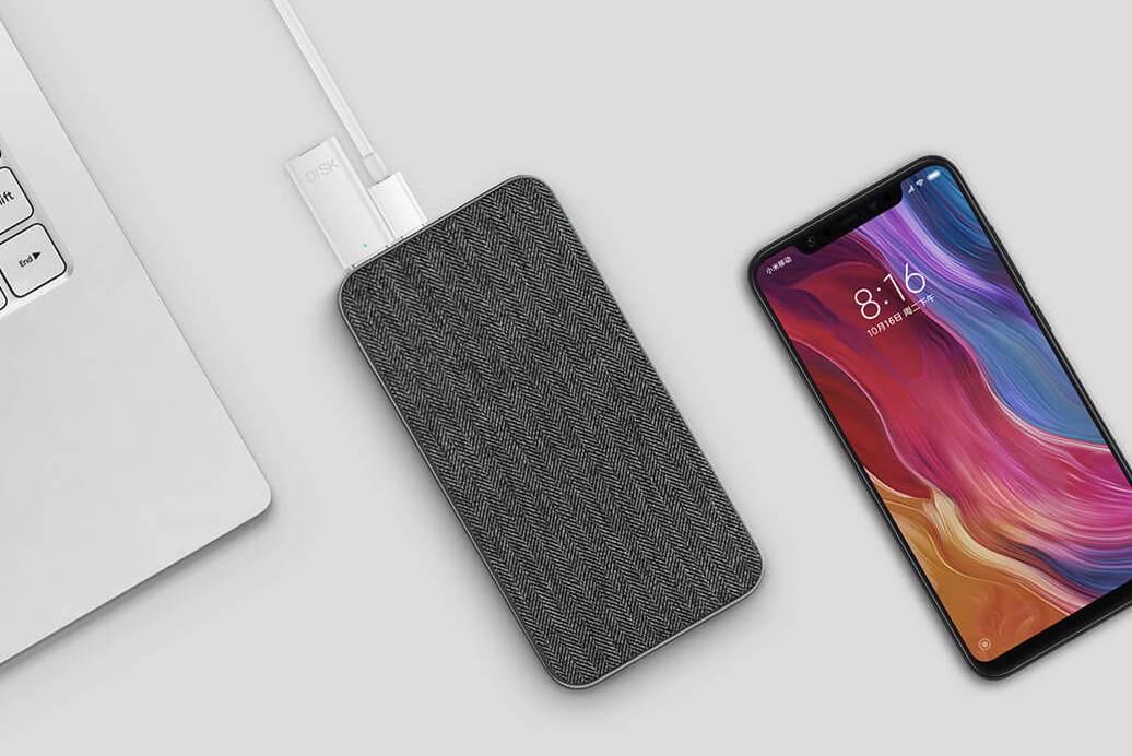 Внешний аккумулятор Xiaomi ZMI 10000mAh QB910 (Grey)