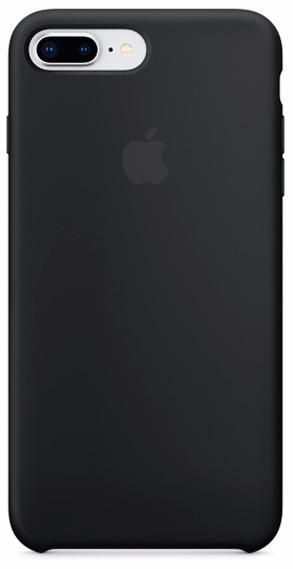 Чехол Apple Silicone Case (MQGW2ZM/A) для Apple iPhone 7 Plus/8 Plus (Black)