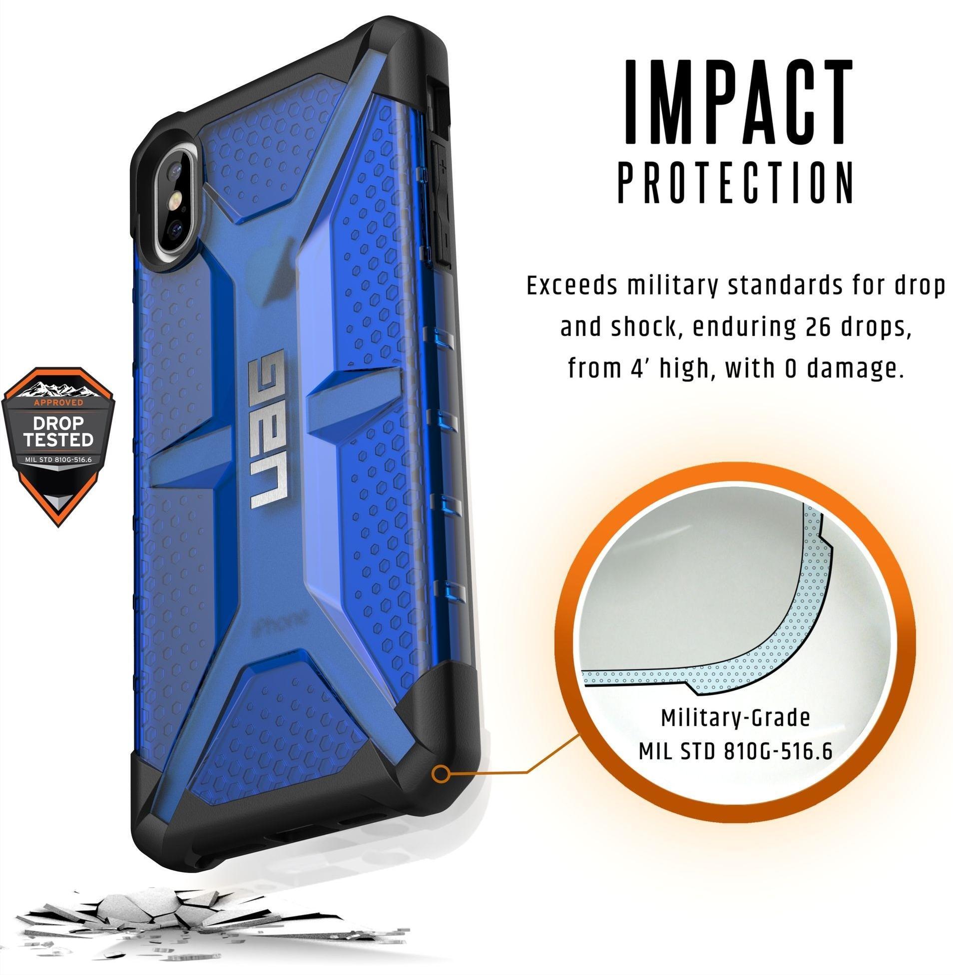 Чехол Urban Armor Gear Plasma для iPhone Xs Max (Cobalt)