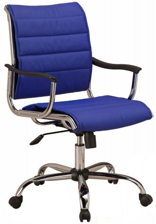 Бюрократ CH-994AXSN - кресло руководителя (Blue) от iCover