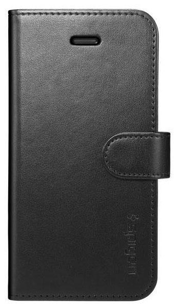 Spigen Wallet S - чехол-книжка для iPhone 5/5S/SE (Black)