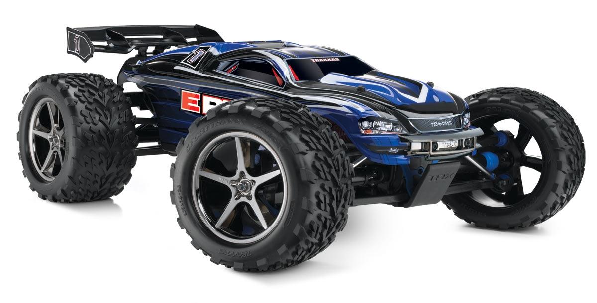 Traxxas E-Revo 4WD RTR 1:10 - радиоуправляемый автомобиль (Blue)Внедорожники / Монстр-трак модели<br>Радиоуправляемая автомодель<br>