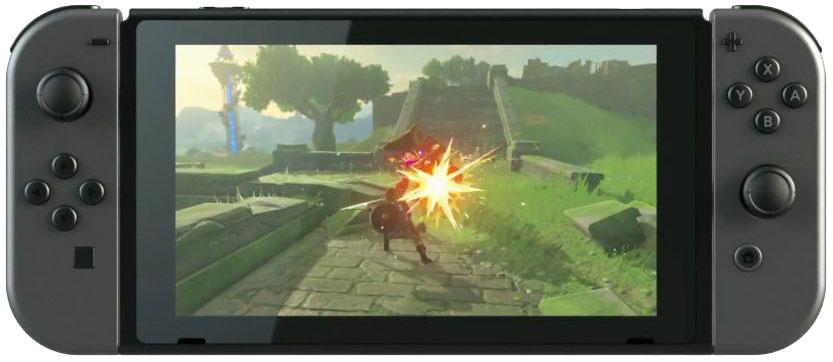 Nintendo Switch - игровая консоль (Grey)