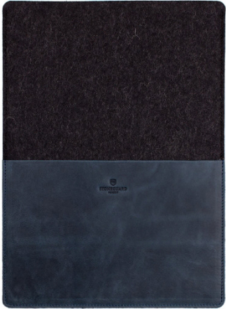 Stoneguard 541 (SG5410202) - кожаный чехол для MacBook Air 13 (Ocean/Coal)
