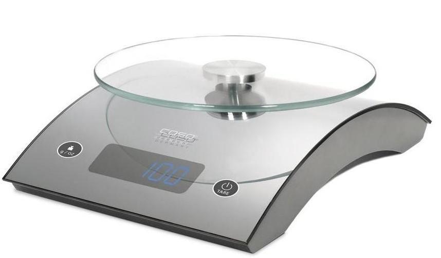 Caso C5 - весы кухонные (Silver)