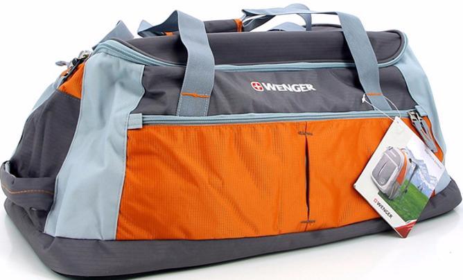 Wenger Duffle (13854761) - спортивная сумка (GreyОrange)