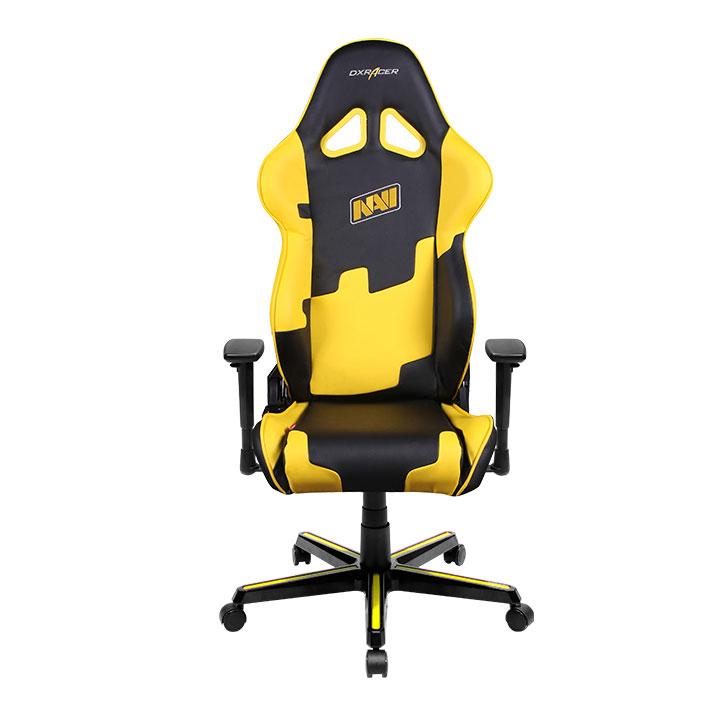 DXRacer OH/RZ21/NY/NAVI - компьютерное кресло (Black/Yellow)