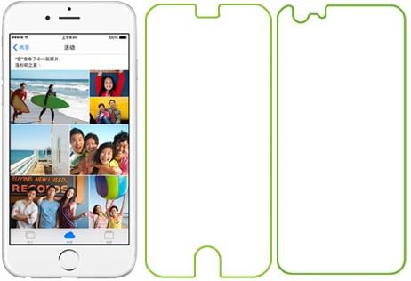 Ainy AC-A608 - �������� �������� ������ ��� Apple iPhone 6 (���������)
