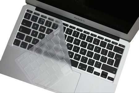 Накладка на клавиатуру i-Blason для Macbook Air 13, Pro Retina 13/15 (силикон, прозрачная, EUR)