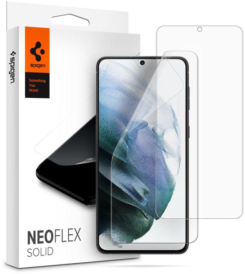 Комплект защитных пленок Spigen NeoFlex (AFL02536) для Samsung Galaxy S21 Plus (Clear)